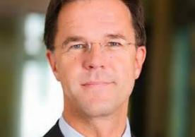 Mark Rutte Prime Minister, Minister of General Affairs, The Netherlands