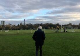 Michel Barnier, the EU's chief negotiator, looking for level playing fields in London yesterday.