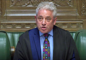 British House of Commons Speaker John Bercow ruling today that the House can't vote a third time on the UK-EU withdrawal agreement.