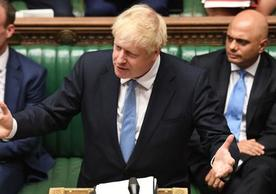 Prime Minister Boris Johnson addressing the House of Commons for the first time on Thursday.