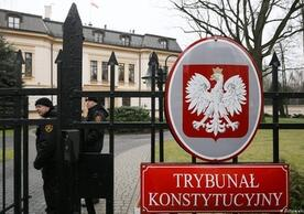 Poland's Constitutional Tribunal, which last Thursday rejected interim measures ordered by the European Court of Justice to ensure judicial independence.